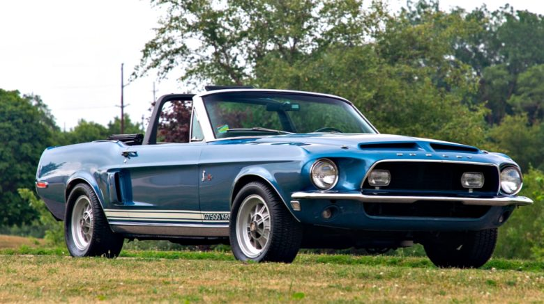 mustang - 1968 SHELBY GT500KR CONVERTIBLE 05 780x437 - Banks Mustang goes for big bucks