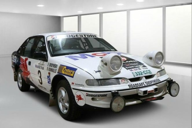 heritage - 1995 Holden Commodore VRII Rally Car Sedan 663x442 - Clock ticking for Holden heritage cars
