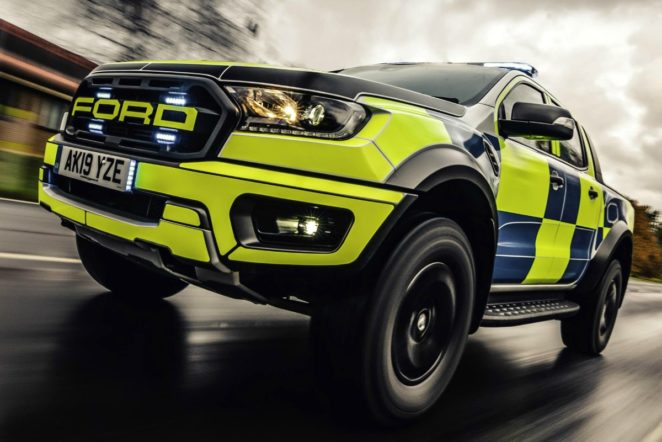 raptor - Police Ford Ranger Raptor 06 662x442 - Raptor dances to a different beat