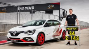 Fire-breathing Megane posts Aussie first