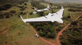 Winged drone brings help to remote areas