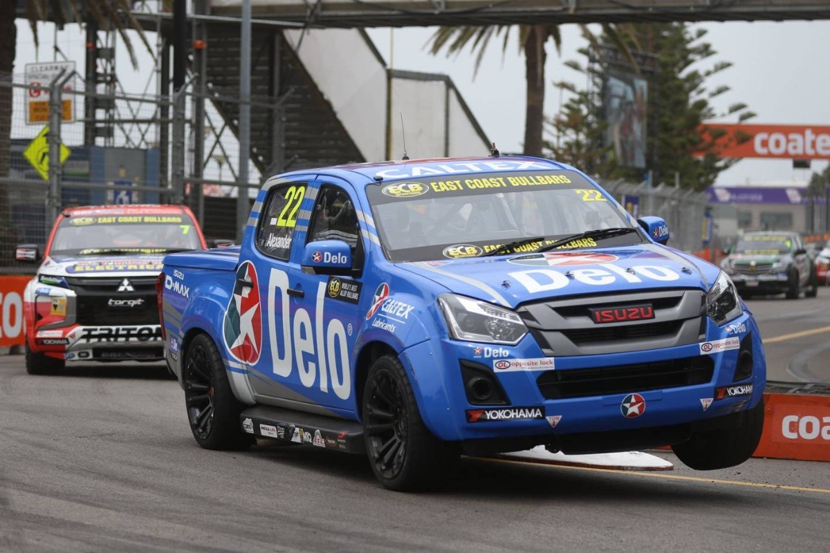 Soon to be V8 SuperUtes never looked so good