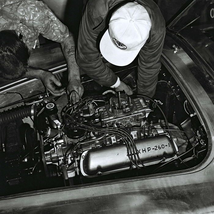 Building the first Shelby Cobra 05