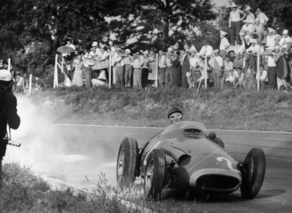 fangio in action