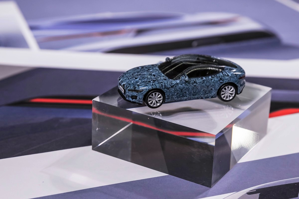 Hot Wheels Jag hits the track in camo