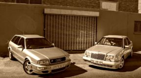 Porsche magic turned Benz and Audis into bahnstormers