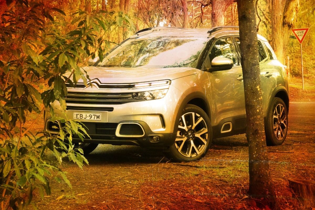 Citroen C5 Aircross: Quirky it is not