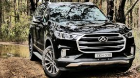 LDV D90 SUV: No sign of the signs