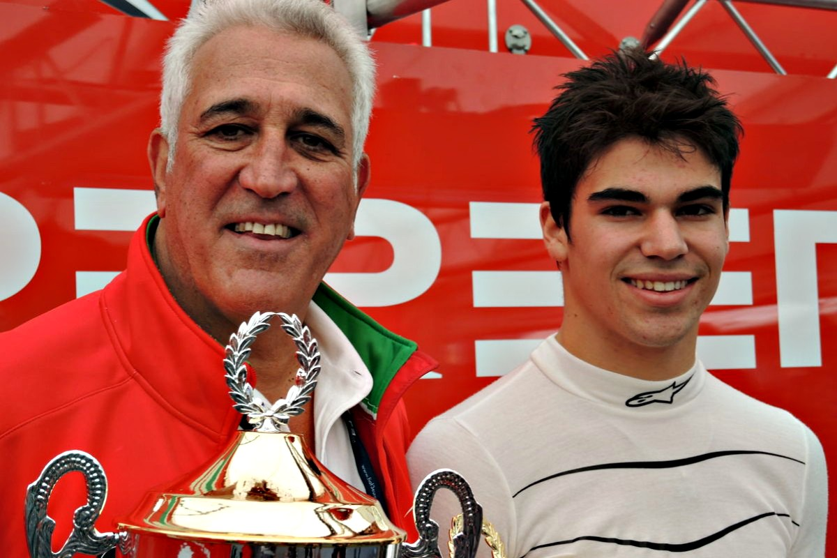 lance and lawrence stroll - Super Stroll funds Aston Martin F1 team