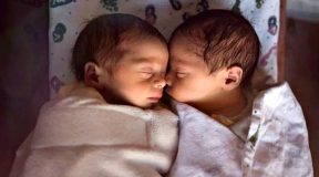 Parents name twins Corona and Covid