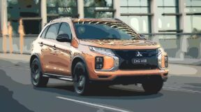 Mitsubishi ASX: Orangish and sunshine