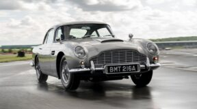 Bond car recreates the 007 legend