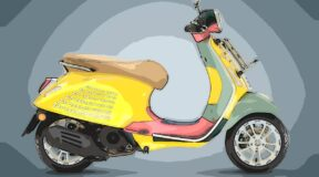 Stylish Vespa gets the Wotherspoon touch