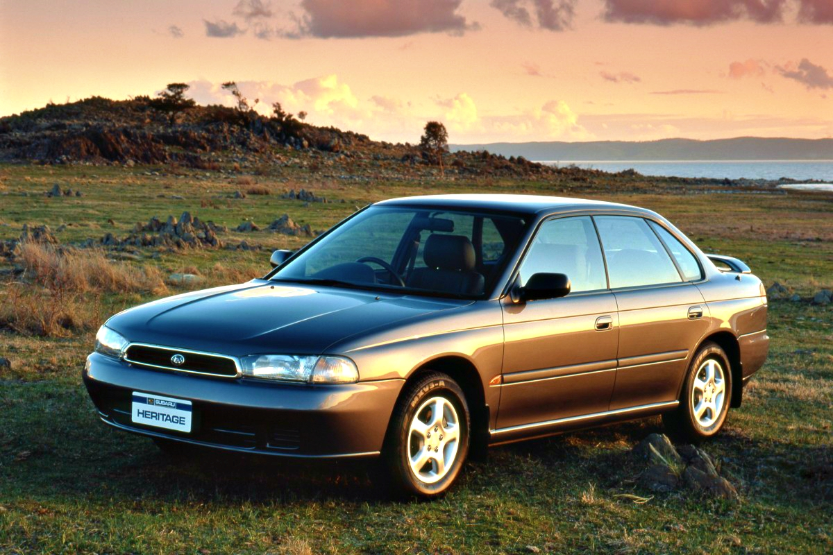 Second generation Subaru Liberty