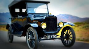 Ford's Model T — Mr Monk drives the car that started it all