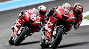 Petrucci claims wet and wild French MotoGP