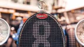 Bugatti badge a work of art
