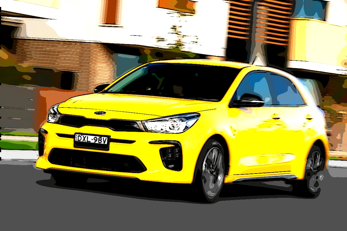 2020 Kia Rio GT Line Yellow 10 - We hit the road to Broken Hill -- Day 13