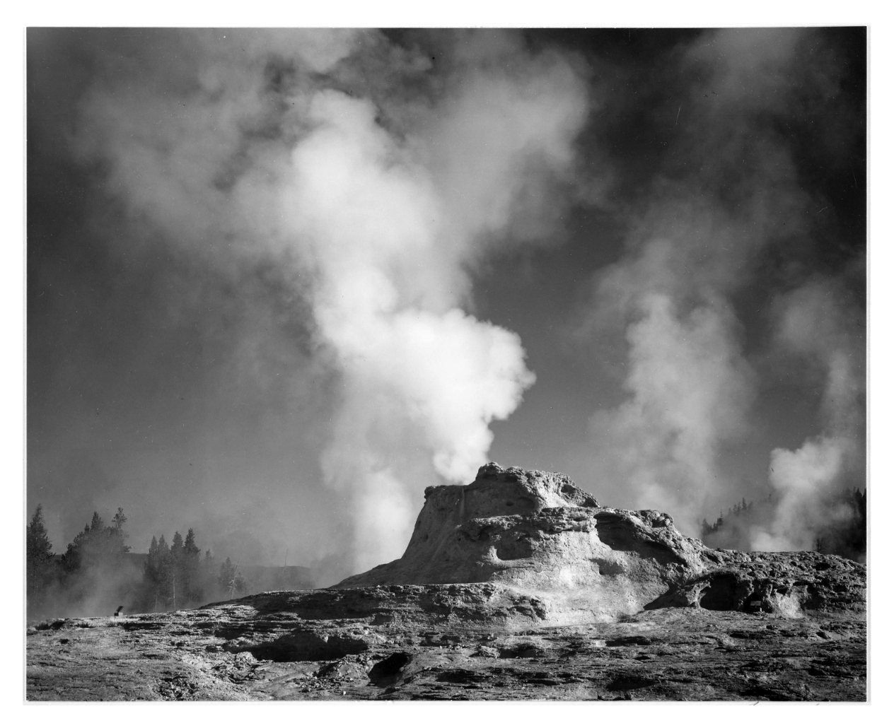 Castle Geyser Cove Yellowstone National Park
