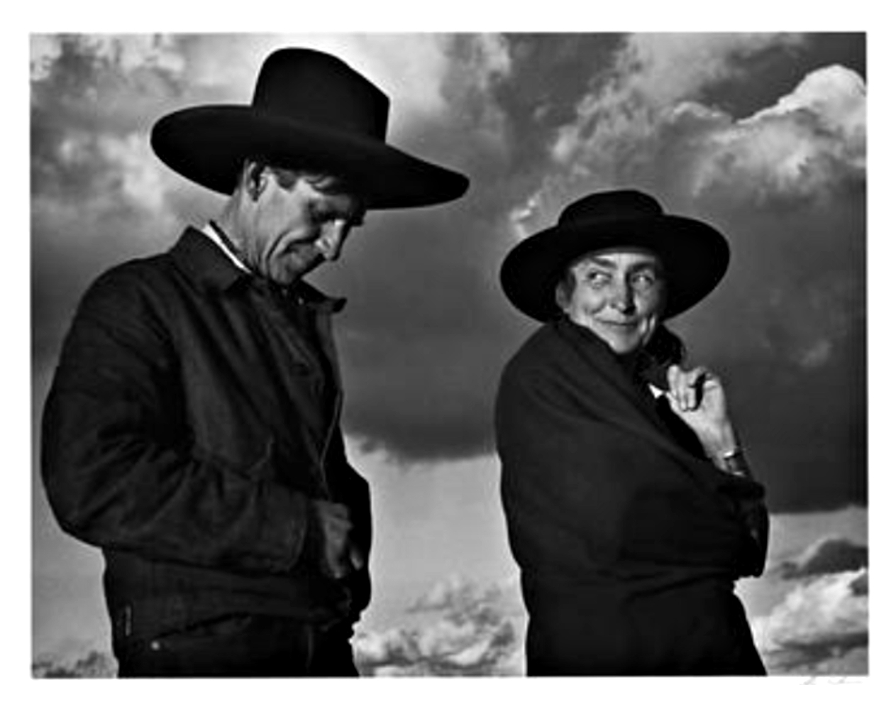 Georgia OKeeffe and Orville Cox Canyon de Chelly National Monument Arizona 1937