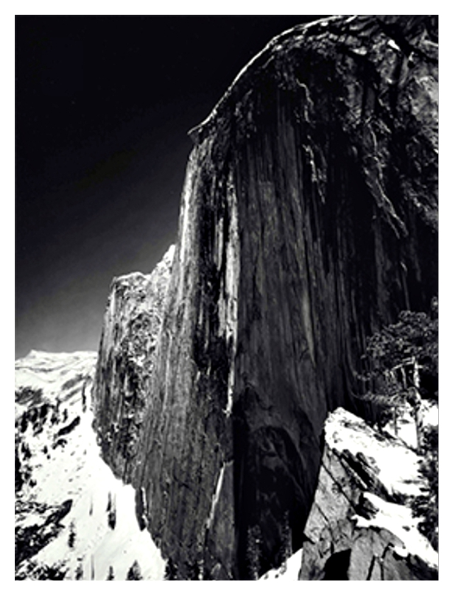 Monolith the Face of Half Dome Yosemite National Park California 1927