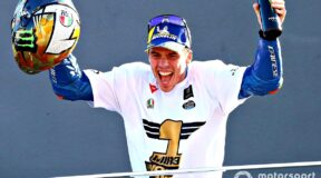 Mir takes MotoGP crown at Valencia