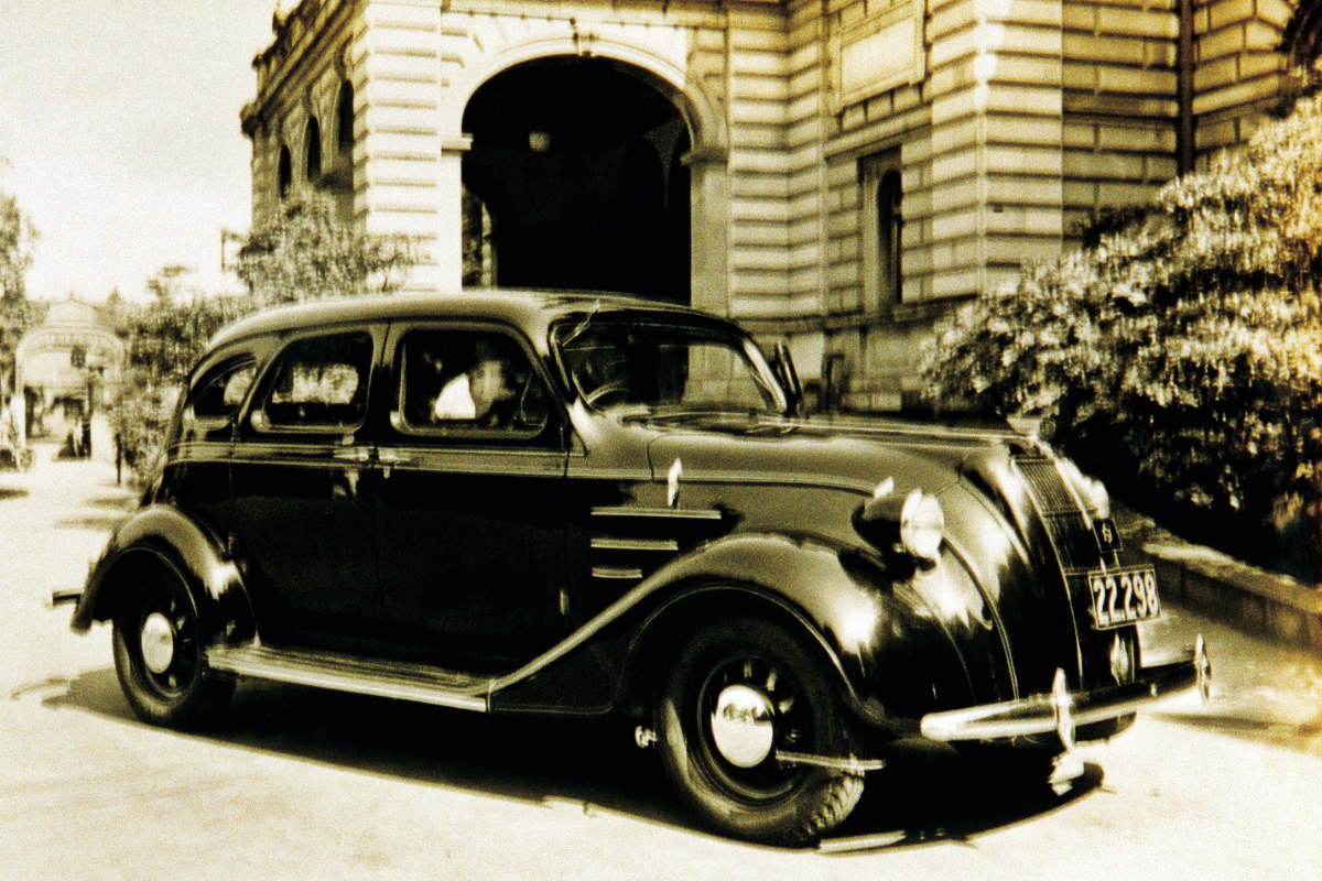 1936 Toyoda Model AA sedan 1