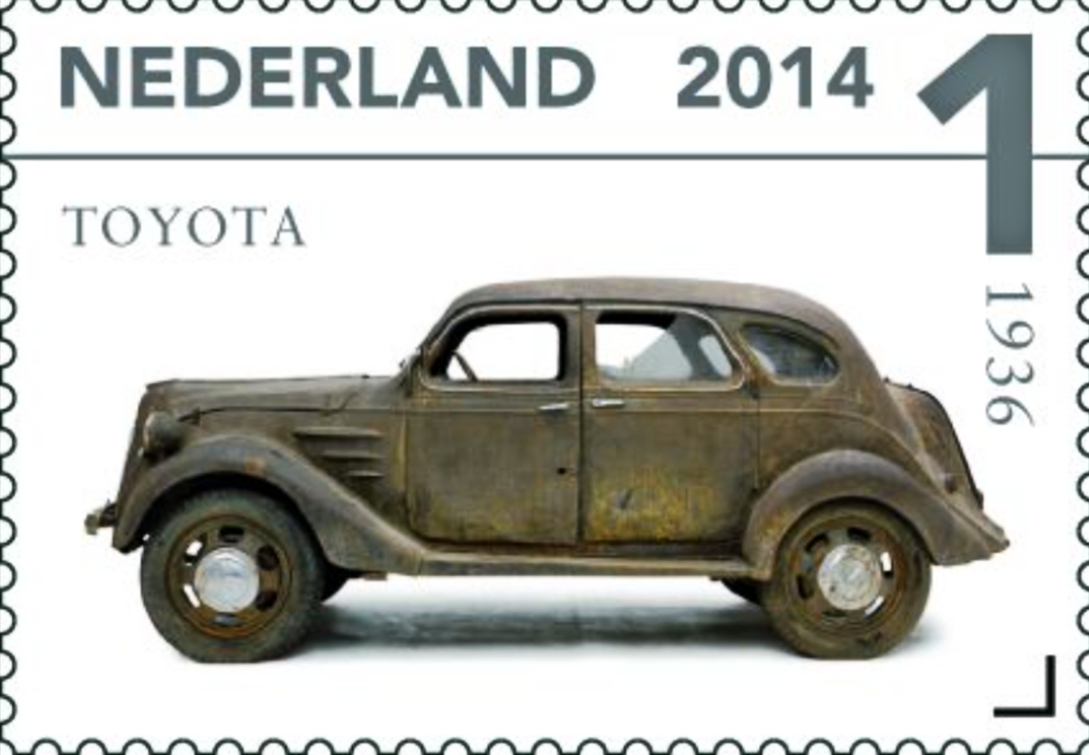 1936 Toyoda Model AA sedan 2