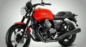 New Moto Guzzi set in stone