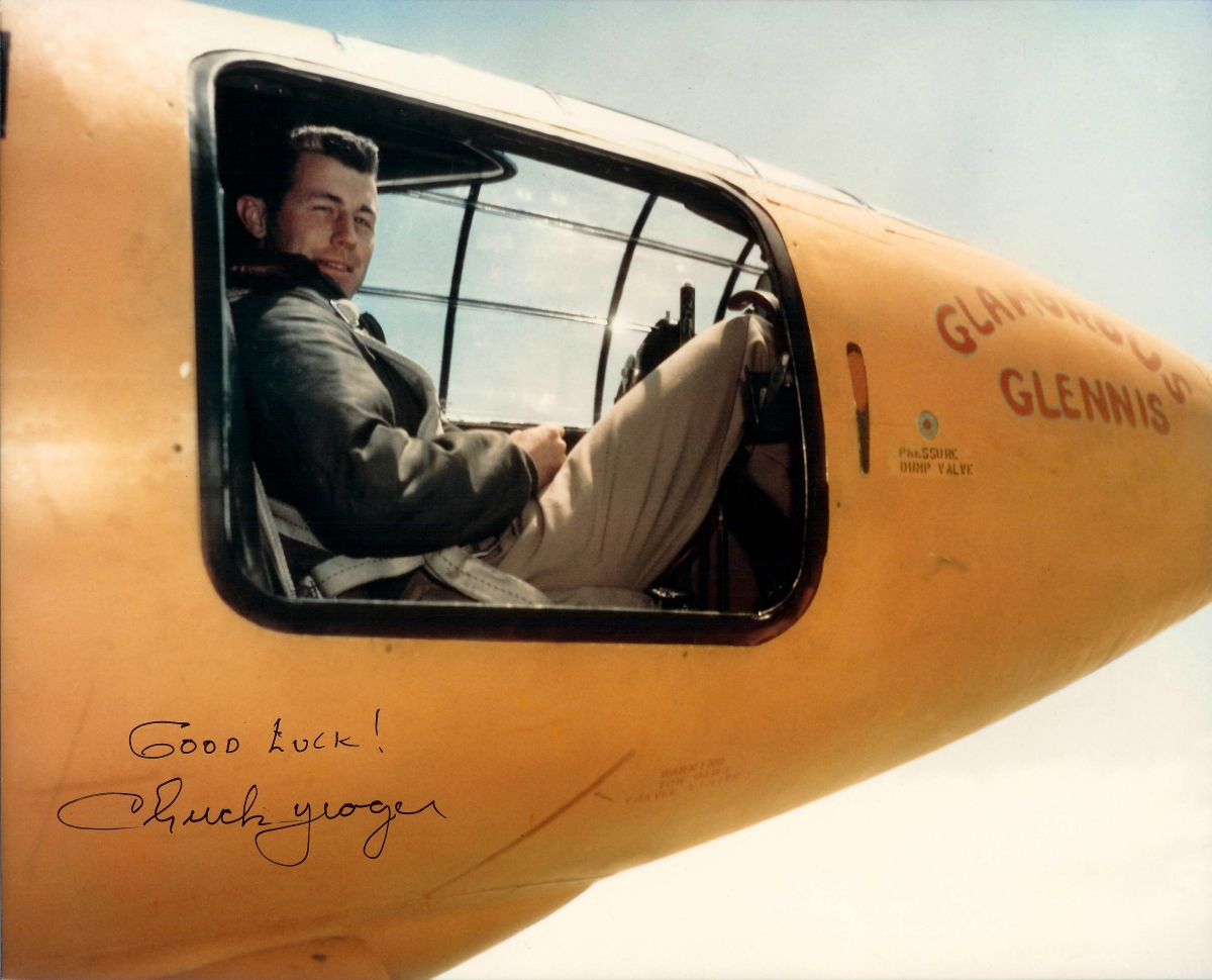 Chuck Yeager and the X 1