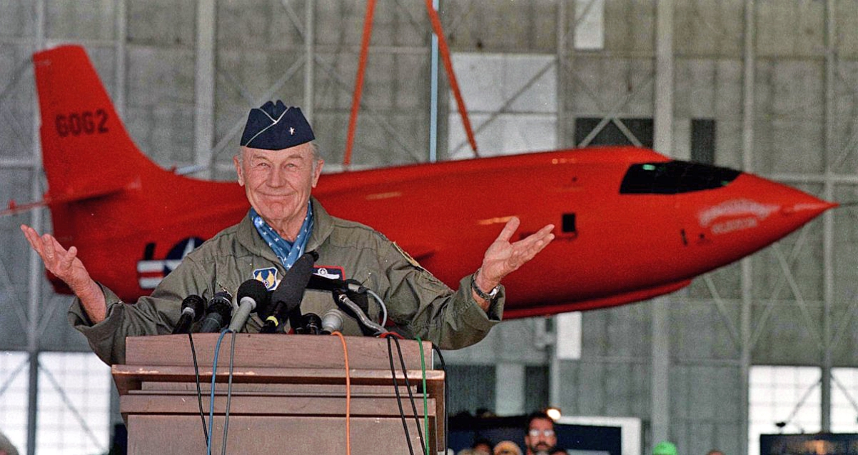 Chuck Yeager talk