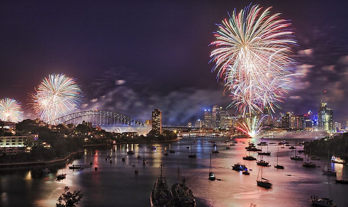 New Years sydney harbour