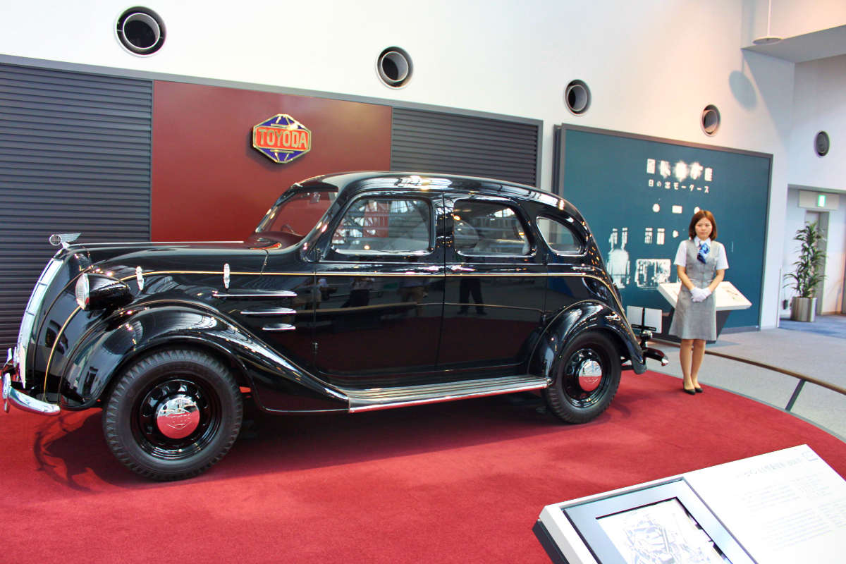 cT2k2GU0 Replica 1936 Toyoda AA sedan
