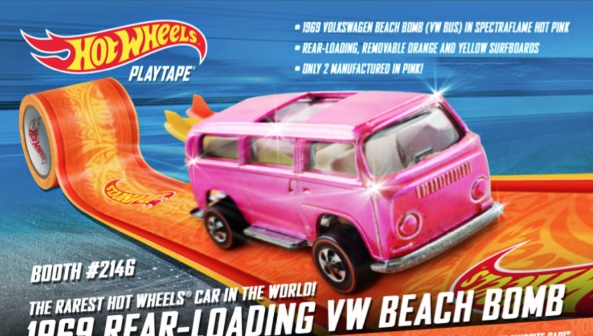 1969 Hot Wheels Volkswagen Beach Bomb 2