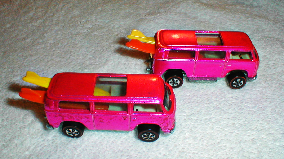 1969 Hot Wheels Volkswagen Beach Bomb 7