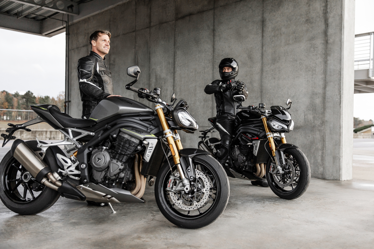 Speed Triple 1200 RS ups the ante