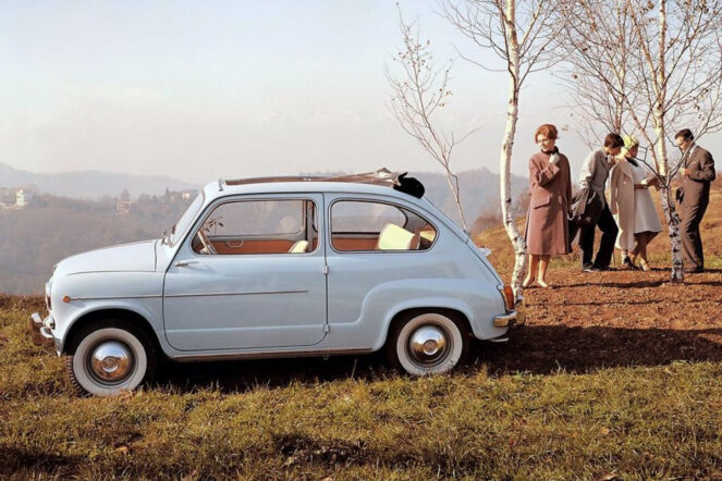 Fiat 600 663x442 - It's not boring in the back