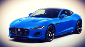 Blue who? Jaguar F-Type Reims Edition