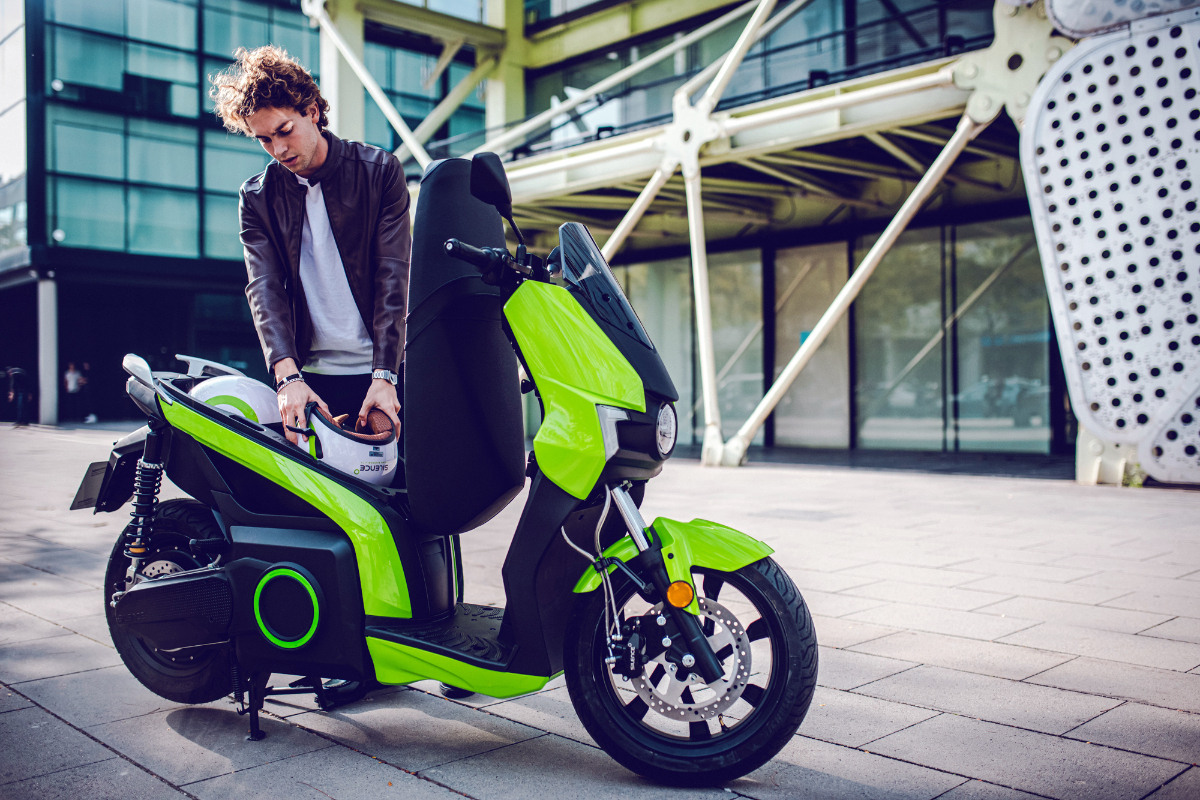 Silence electric scooter 9