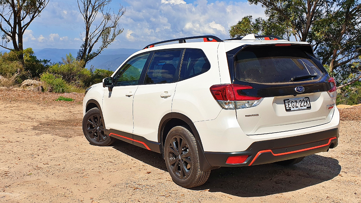 Subaru Forester: Sport adds touch of red
