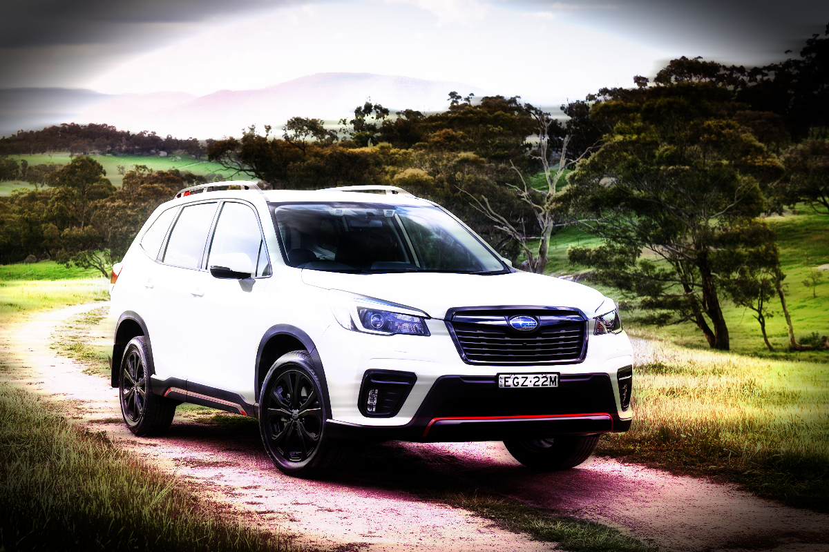 2021 Subaru Forester Sport feature - Cappuccino, crackers and Argentine ants