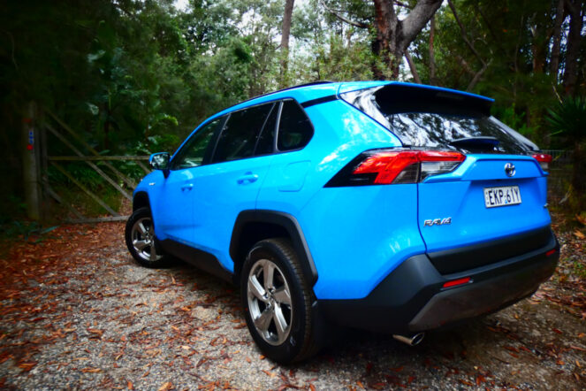 2021 Toyota RAV4 GXL Hybrid AWD 8 663x442 - Toyota RAV4 Hybrid: The power to impress