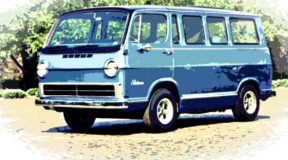 1960s Electrovan first hydrogen-powered vehicle