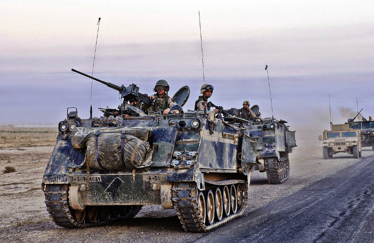 M113 Armoured Personnel Carrier