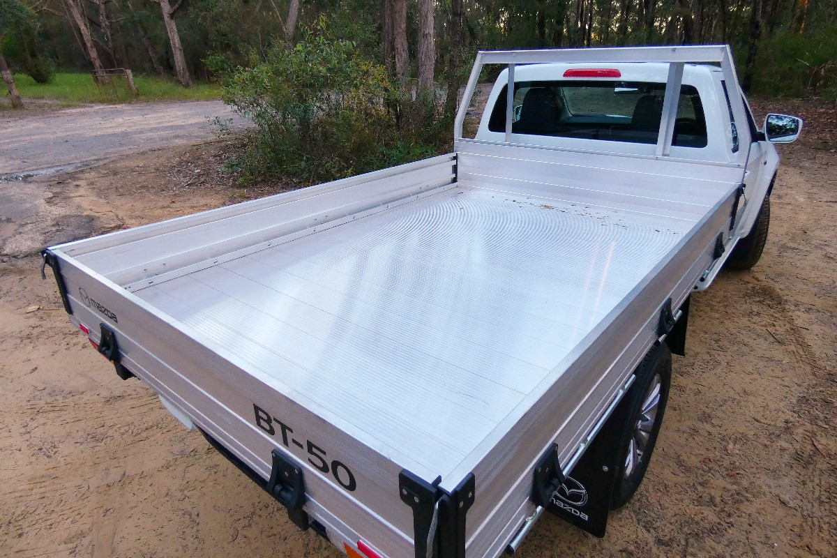 2021 Mazda BT 50 XT cab chassis 5