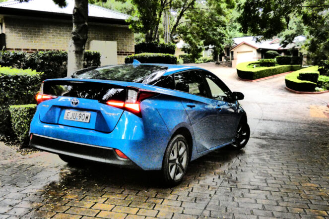 Toyota Prius: Funny about that