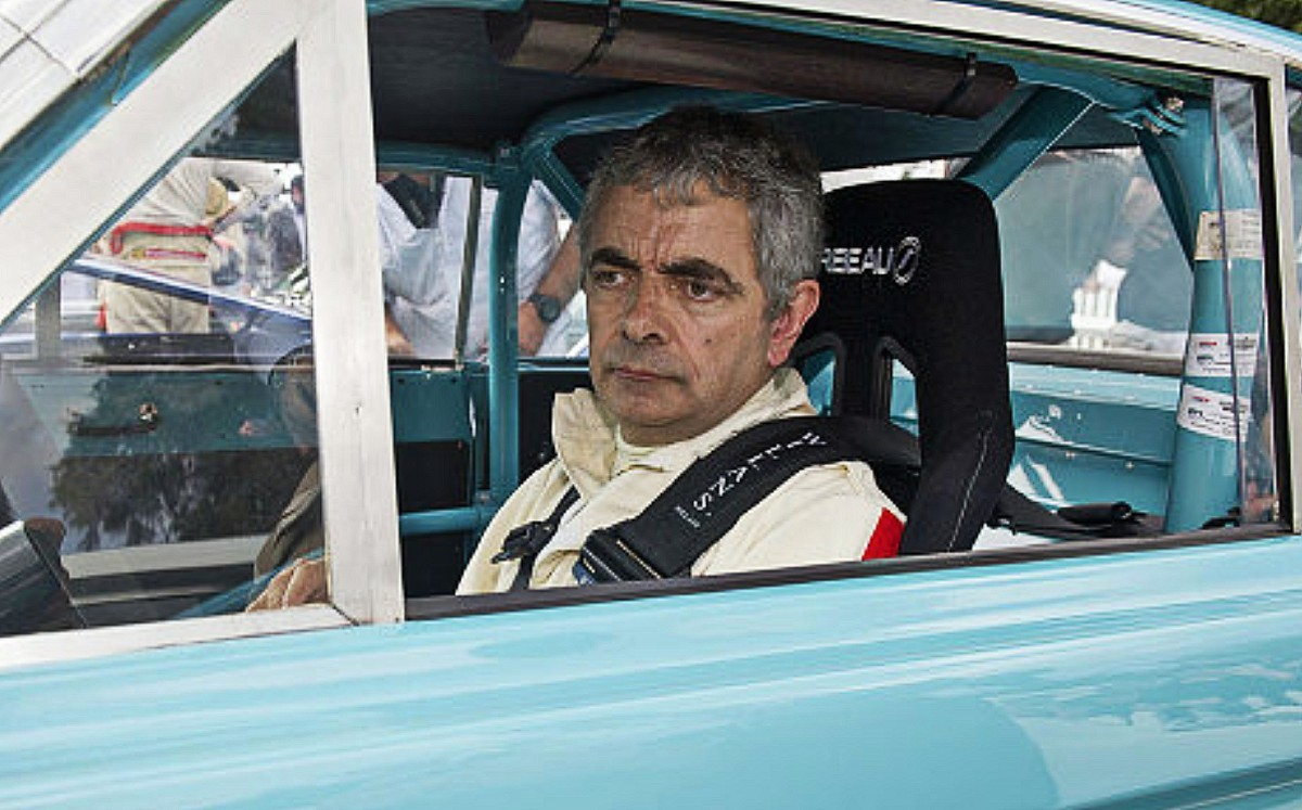 Going once, going twice . . . sold by Mr Bean