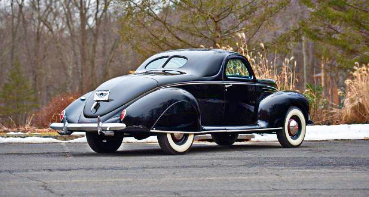 1939 Lincoln Zephyr coupe 1