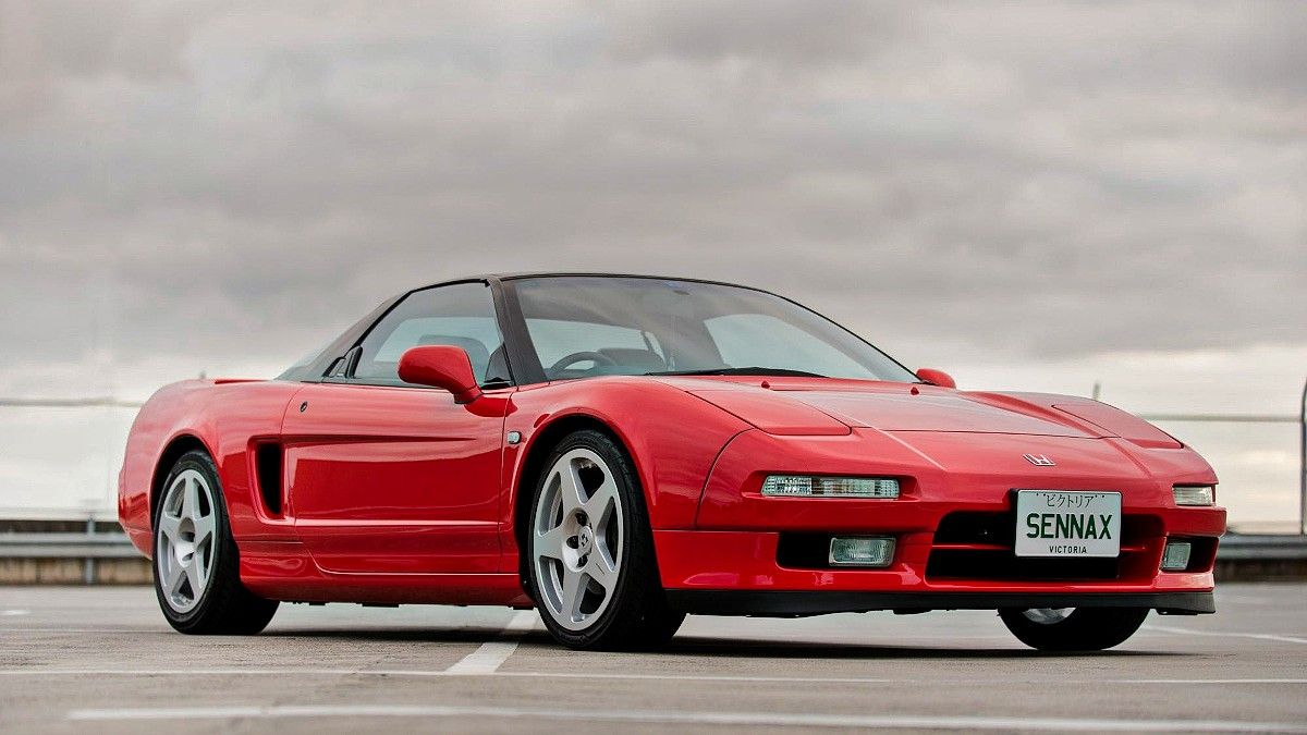 Time warp NSX a nod to Senna