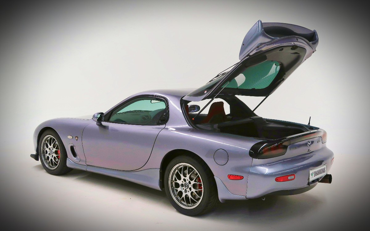 Killer RX-7 direct from heaven